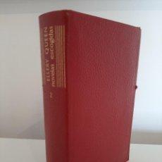 Libros de segunda mano: NOVELAS ESCOGIDAS TOMO 2. ELLERY QUEEN. EDITORIAL AGUILAR. COLECCIÓN EL LINCE ASTUTO. 1966. Lote 288622663