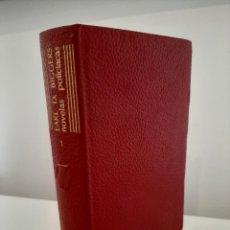 Libros de segunda mano: NOVELAS POLICÍACAS COMPLETAS. TOMO 1. EARL D. BIGGERS. AGUILAR. COLECCIÓN EL LINCE ASTUTO. 1965. Lote 288624688