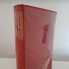 Libros de segunda mano: CASOS ARCHIVADOS. ROY VICKERS. EDITORIAL AGUILAR. COLECCIÓN EL LINCE ASTUTO. PRECINTADO. Lote 288628448