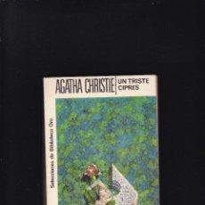 Libros de segunda mano: AGATHA CHRISTIE - UN TRISTE CIPRÉS - EDITORIAL MOLINO 1959. Lote 288705263