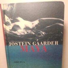 Libros de segunda mano: MAYA - GAARDER, JOSTEIN. PRIMERA EDICIÓN. SIRUELA. TAPA DURA. Lote 288745248