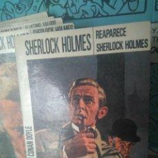Libros de segunda mano: REAPARECE SHERLOCK HOLMES. SIR ARTHUR CONAN DOYLE. EDITORIAL MOLINO. Lote 288943793