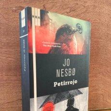 Libri di seconda mano: ¡¡LIQUIDACION!! PEDIDO MINIMO 5 EUROS - PETIRROJO - JO NESBO - RBA / SERIE NEGRA. Lote 289225603