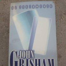 Libros de segunda mano: EL TESTAMENTO. JOHN GRISHAM. EDICIONES B. 2000.. Lote 289526358