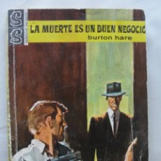Libros de segunda mano: SERVICIO SECRETO 795 - BURTON HARE / LA MUERTE ES UN BUEN NEGOCIO - 1965 - DESILO. Lote 289709588