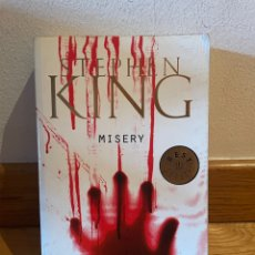 Libros de segunda mano: STEPHEN KING MISERY. Lote 289873183