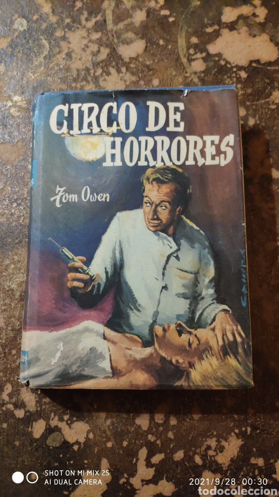 CIRCO DE HORRORES (TOM OWEN) (ED. CEDRO) (Libros de segunda mano (posteriores a 1936) - Literatura - Narrativa - Terror, Misterio y Policíaco)
