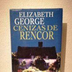 Libros de segunda mano: LIBRO - CENIZAS DE RENCOR - THRILLER SUSPENSE - ELIZABETH GEORGE. Lote 295551468