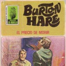 Libros de segunda mano: 004 - LA HUELLA Nº 72 - EL PRECIO DE MORIR - BURTON HARE. Lote 295863118