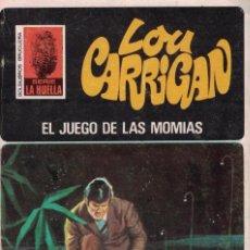 Libros de segunda mano: 004 - LA HUELLA Nº 114 - EL JUEGO DE LAS MOMIAS - LOU CARRIGAN. Lote 295863163