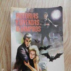 Libros de segunda mano: HISTORIAS Y LEYENDAS DE VAMPIROS FRITZ STRAFFER 6 FERMA 1962. Lote 295937723