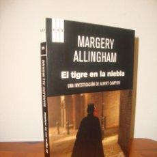 Libros de segunda mano: EL TIGRE EN LA NIEBLA. UNA INVESTIGACION DE ALBERT CAMPION - MARGERY ALLINGHAM - RBA SERIE NEGRA. Lote 296826553