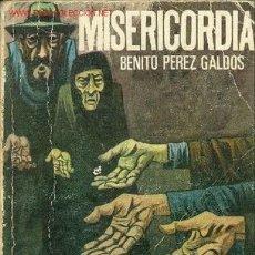 Libros de segunda mano: MISERICORDIA POR PEREZ GALDOS, BENITO . Lote 23059876