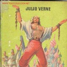 Libros de segunda mano: MIGUEL STROGOFF DE JULIO VERNE . Lote 24133683