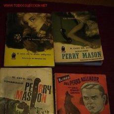 Libros de segunda mano: LOTE DE 4 NOVELAS DE PERRY MASON. Lote 6263152