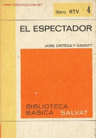 EL ESPECTADOR POR JOSE ORTEGA Y GASSET (Libros de Segunda Mano - Pensamiento - Otros)