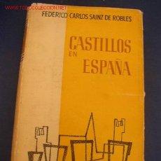 Libros de segunda mano: CASTILLOS EN ESPAÑA- SU HISTORIA- SU ARTE- SUS LEYENDAS.AGUILAR. MADRID. 2ª ED. 1962. Lote 17616685