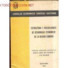 Libros de segunda mano: 1958. SANTA CRUZ DE TENERIFE Y LAS PALMAS. Lote 26409212