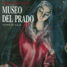 Libros de segunda mano: LIBRO MUSEO DEL PRADO, DE XAVIER DE SALAS. TICIANO, TINTORETTO, EL GRECO Y OTRAS PINTORES DEL SIGLO . Lote 22923690