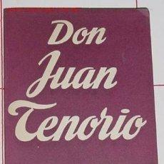 Libros de segunda mano: ZORRILLA, JOSÉ - DON JUAN TENORIO. Lote 4766832