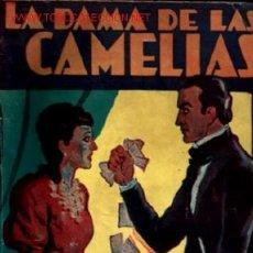 Libros de segunda mano: LA DAMA DE LAS CAMELIAS .. 1957 .. ALEJANDRO DUMAS HIJO. Lote 19607152