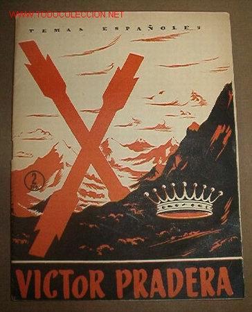 REVISTA TEMAS ESPAÑOLES Nº37, 1956 VÍCTOR PRADERA (Libros de Segunda Mano - Historia - Otros)