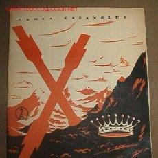 Libros de segunda mano: REVISTA TEMAS ESPAÑOLES Nº37, 1956 VÍCTOR PRADERA. Lote 7772647