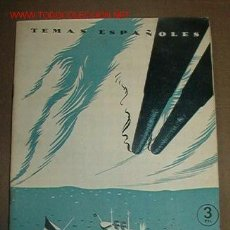 Libros de segunda mano: REVISTA TEMAS ESPAÑOLES Nº98. 1959. CUBA Y FILIPINAS 1898. Lote 9555290