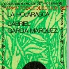 Libros de segunda mano: GABRIEL GARCIA MARQUEZ: LA HOJARASCA...(BUENOS AIRES, 1970). Lote 23803482