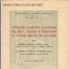 Libros de segunda mano: CATÁLOGO DE ARTE .. Lote 24851828