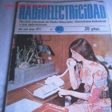 Libros de segunda mano: RADIOELECTRICIDAD. Lote 3268979