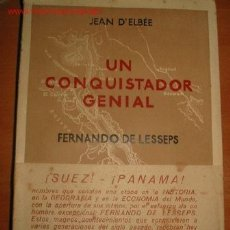 Libros de segunda mano: FERNANDO DE LESSEPS. 1.942. Lote 26954537