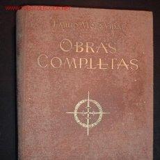 Libros de segunda mano: OBRAS COMPLETAS EMILIO MOLA VIDAL,1940. Lote 14566097
