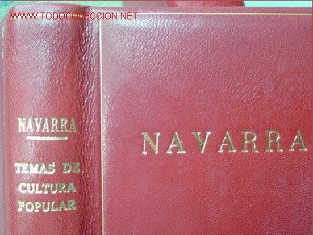 NAVARRA.TEMAS DE CULTURA POPULAR. NÚMS 311-320. (Libros de Segunda Mano - Historia - Otros)