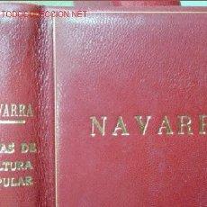 Libros de segunda mano: NAVARRA.TEMAS DE CULTURA POPULAR. NÚMS 311-320.. Lote 13858728
