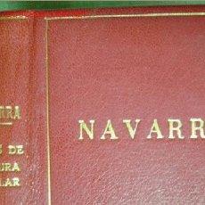 Libros de segunda mano: NAVARRA.TEMAS DE CULTURA POPULAR. NÚMS 281-290.. Lote 23954771