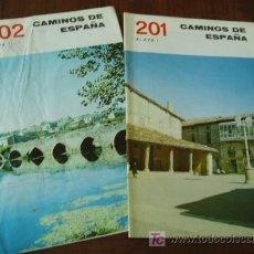 ALAVA 2 librillos CAMINOS de ESPAÑA Guia c.1958