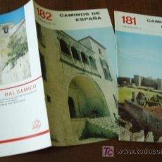 TRUJILLO 2 librilloS CAMINOS de ESPAÑA Guia c.1958