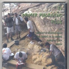 Libros de segunda mano: EL PRIMER MADRILEÑO FÓSIL. (YACIMIENTOS DE PINILLA DEL VALLE -MADRID-). VIDEO DVD. (ARQUEOLOGÍA).. Lote 26361121