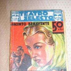 Libros de segunda mano: 1936 -- LA MALQUERIDA - JACINTO BENAVENTE.. Lote 26573214