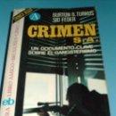 Libros de segunda mano: CRONICA NEGRA-CRIMEN S.A. Lote 27413900