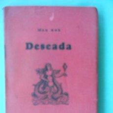 Libros de segunda mano: MAX AUB DESEADA 1A. EDICIÓN TEZONTLE MÉXICO 1950. Lote 3320260