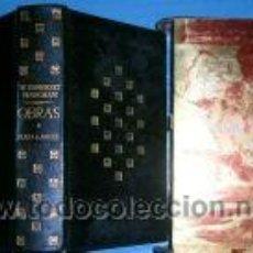 Libros de segunda mano: W. SOMERSET MAUGHAM. OBRAS. 1ª EDIC.1961.PIEL.. Lote 3327503