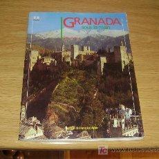 Libros de segunda mano: GRANADA ( EN FRANCÉS ). 187 FOTOGRAFÍAS A TODO COLOR. Lote 20785489