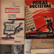 Libros de segunda mano: LOTE DE SEIS FOLLETOS EDITADOS EN EL EXILIO MÁS UNA POSTAL VISADA POR LA CENSURA. Lote 12263501