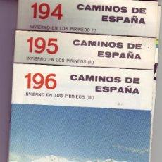 Libros de segunda mano: INVIERNO EN LOS PIRINEOS -CAMINOS DE ESPAÑA.. Lote 24536834