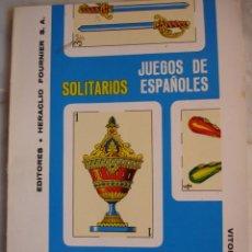 Libros de segunda mano: SOLITARIOS,HERACLIO FOURNIER. Lote 20802921