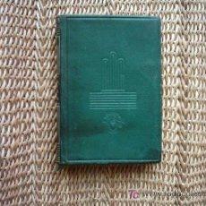 Libri di seconda mano: DORA ISELLA RUSSELL. DEL ALBA AL MEDIODÍA (1943-1952). 1ª EDICIÓN 1954. PIEL. . Lote 27613000