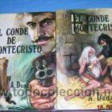 Libros de segunda mano: EL CONDE DE MONTECRISTO.ALEJANDRO DUMAS. 2 TOMOS.. Lote 3623245