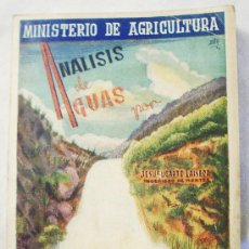 Libros de segunda mano: ANÁLISIS DE AGUAS, POR JESÚS UGARTE LAISECA.. Lote 26142120